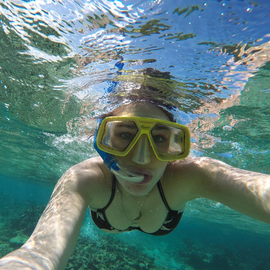 Snorkeling in Coral Beach