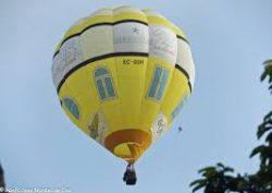 Globo vliegt over Matanzas voor het 325-jubileum
